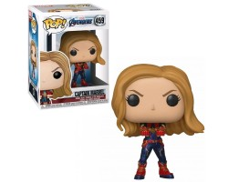 Funko Pop! Marvel: Avengers Endgame - Captain Marvel (Bobble-Head )