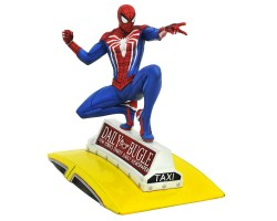 Marvel Gallery PVC Diorama PS4: Spider-Man on Taxi
