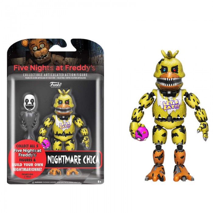 Action Figure Five Nights at Freddy's: Nightmare Chica