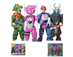 Action Figure Games: Fortnite -  4-Pack (Squad Mode )