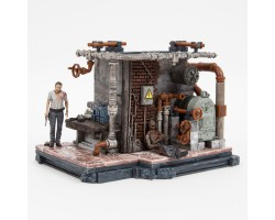 Construction Set Walking Dead: Prison Boiler Room